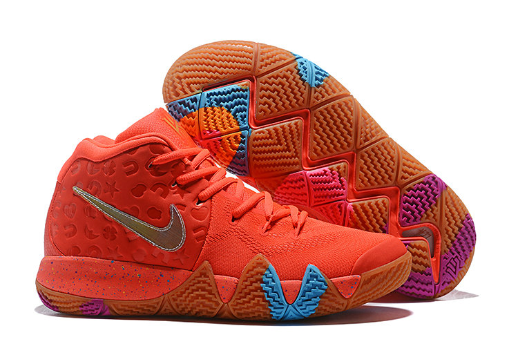 Wholesale Cheap Nike Kyrie 4 Lucky Charms Bright Crimson Multi-Color BV0428-600