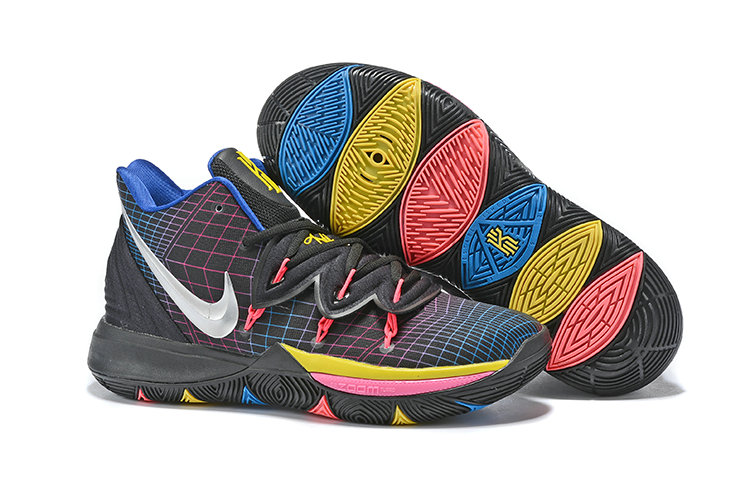 Wholesale Cheap Nike Kyrie 5 Irvings VI All Stire Silver Black Pink Yellow