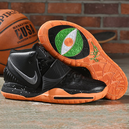 Cheap Nike Kyrie 6 Black Total Orange