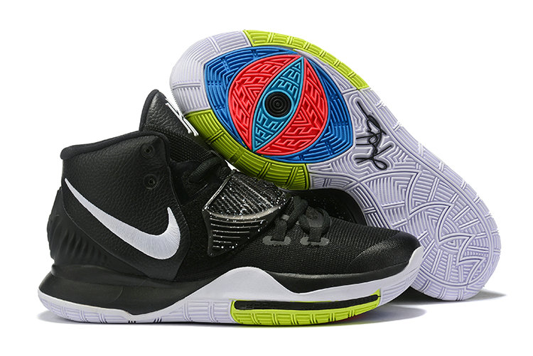Cheap Nike Kyrie 6 Black White Green