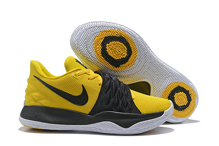 Wholesale Cheap Nike Kyrie Flytrap Irvings Basketball Shoes Black White Yellow