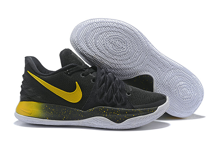 Wholesale Cheap Nike Kyrie Flytrap Irvings Basketball Shoes Black Yellow White