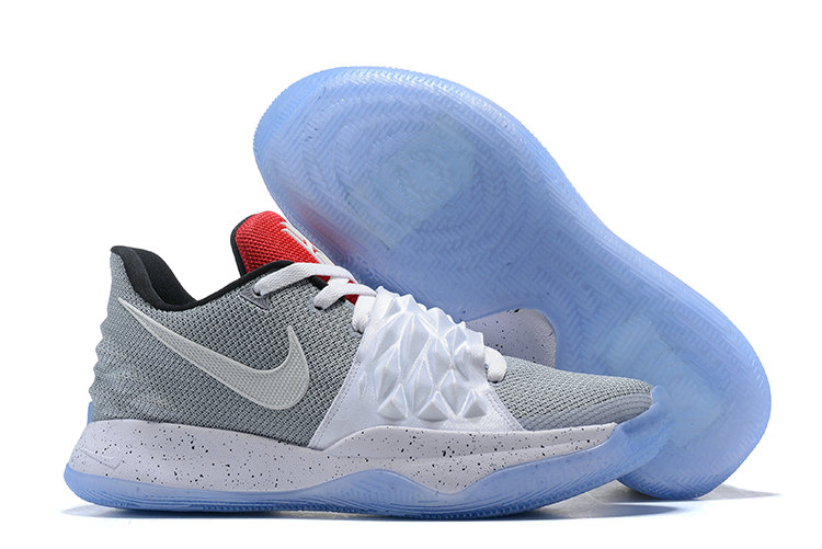 Wholesale Cheap Nike Kyrie Flytrap Irvings Basketball Shoes White Cold Grey