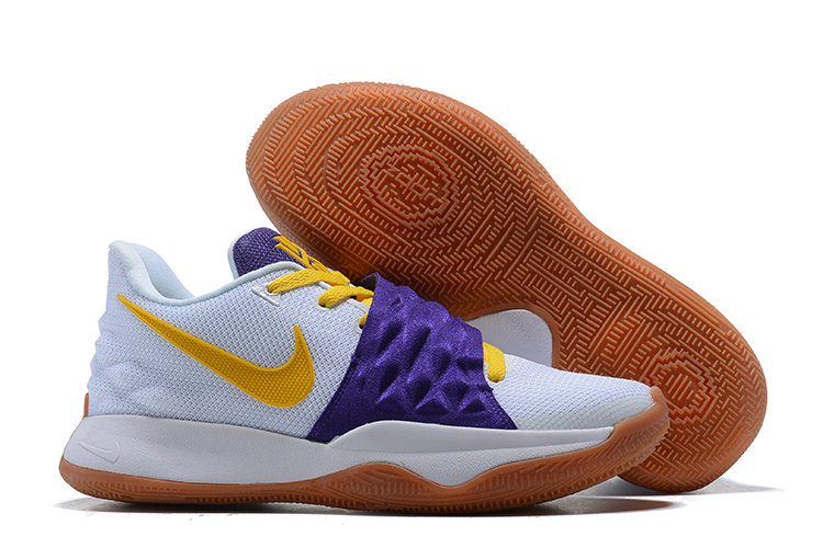 Wholesale Cheap Nike Kyrie Flytrap Irvings Basketball Shoes Yellow Purple White