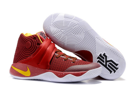 Cheap Wholesale Nike Kyrie Irving 2 (II)  Red Yellow White