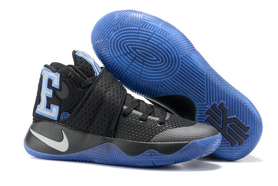 Cheap Wholesale Nike Kyrie Irving 2 (II) Black Blue White