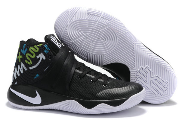 Cheap Wholesale Nike Kyrie Irving 2 (II) Black White