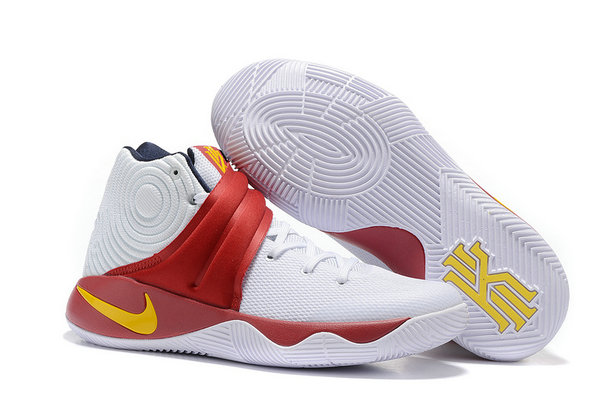 Cheap Wholesale Nike Kyrie Irving 2 (II) White Red Yellow