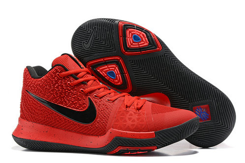 Cheap Wholesale Nike Kyrie Irving 3 III Black Red