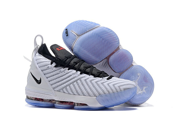 Wholesale Cheap Nike LeBron 16 Harlem Fashion Row White Black