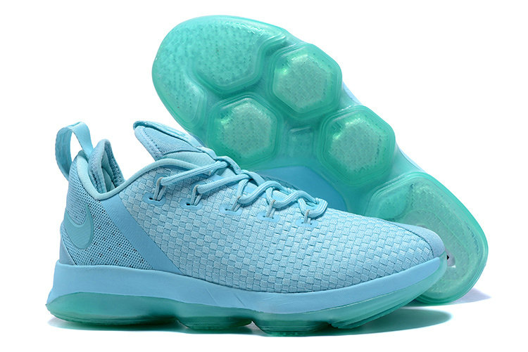 Cheap Wholesale Nike Lebron 14 Low Mint Green
