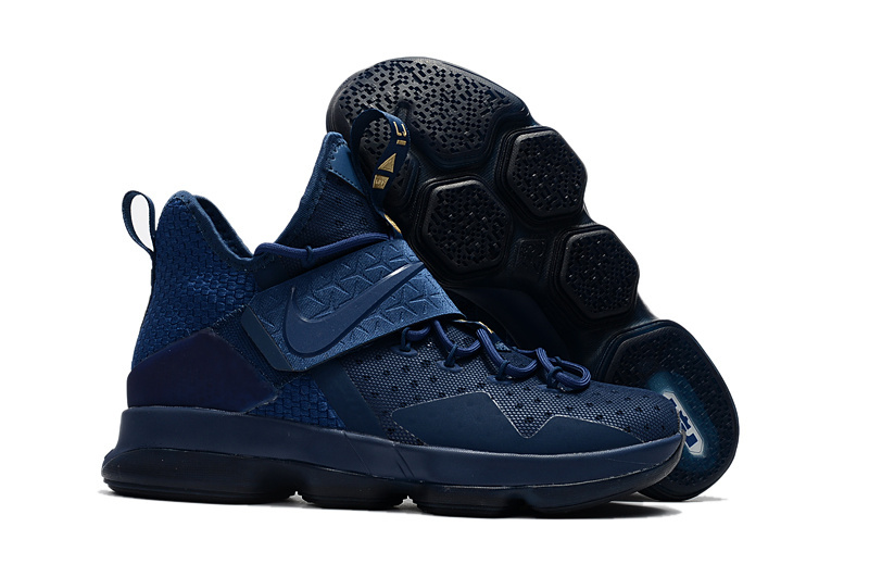 Cheap Wholesale Nike Lebron 14 Philippines Navy Blue Black