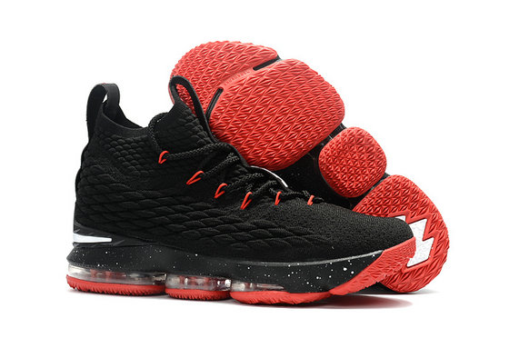 Cheap Wholesale Nike Lebron 15 Red Black White