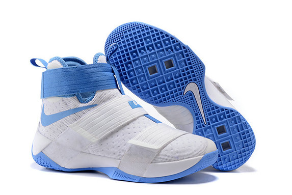 Cheap Wholesale Nike Lebron Soldier 10 X Blue White