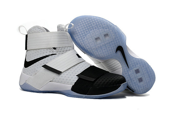 Cheap Wholesale Nike Lebron Soldier 10 X OVO Black White