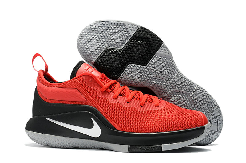 Cheap Wholesale Nike Lebron Witness II EP University Red Black White Grey