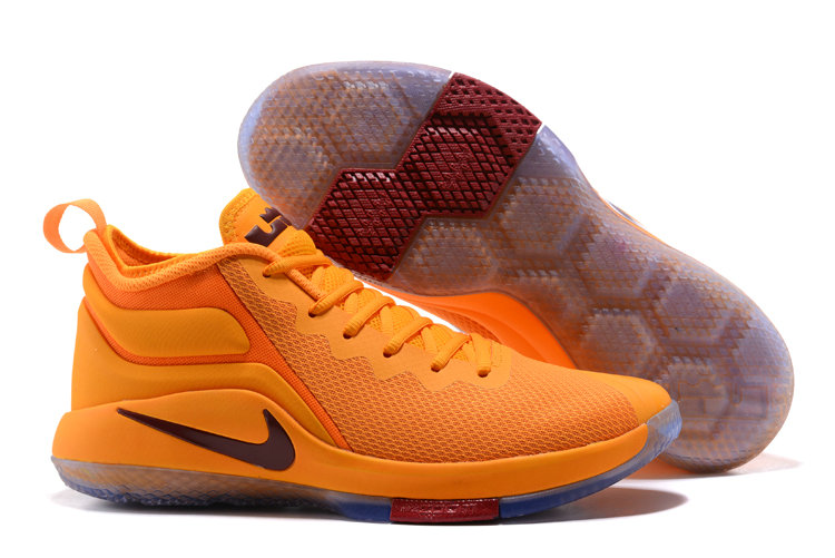 Cheap Wholesale Nike Lebron Witness II EP Yellow Wine Red Blue