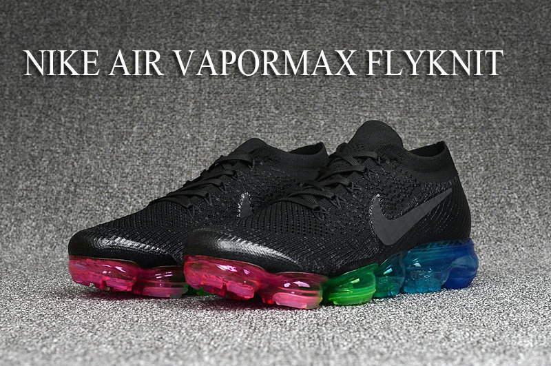 Cheap Wholesale Nike Nike Air VaporMax Flyknit Be True Black Colorful