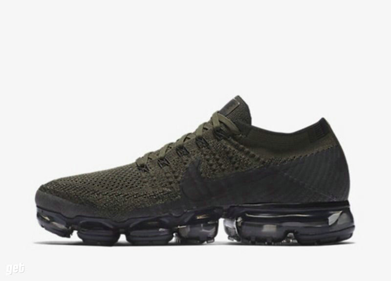 Cheap Wholesale Nike Nike Air VaporMax Flyknit Green Black Sportwear