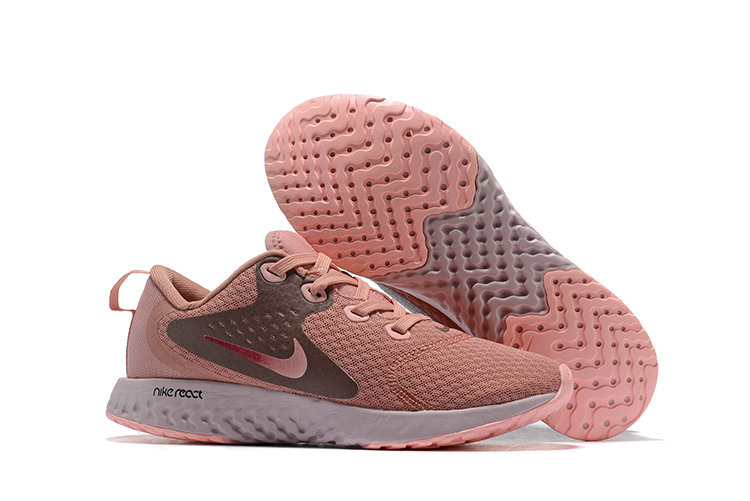 Wholesale Cheap Nike Odyssey React Womens Rose Gold White