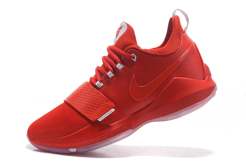 Cheap Wholesale Nike PG 1 Mens Basketball Shoes University Red