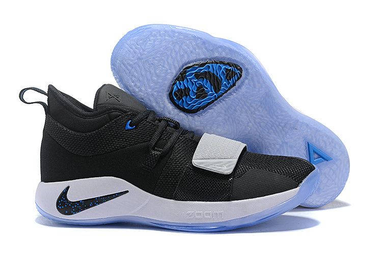 Wholesale Cheap Nike PG 2.5 Black-Black-Photo Blue BQ8453-006
