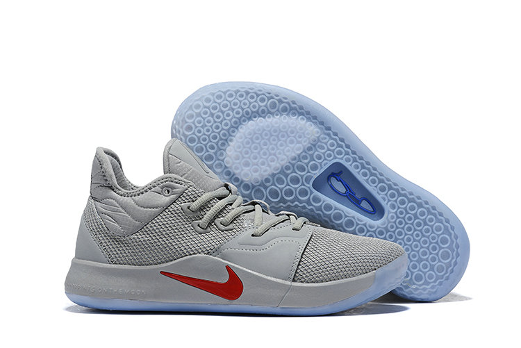 Wholesale Cheap Nike PG 3 Grey Red Blue