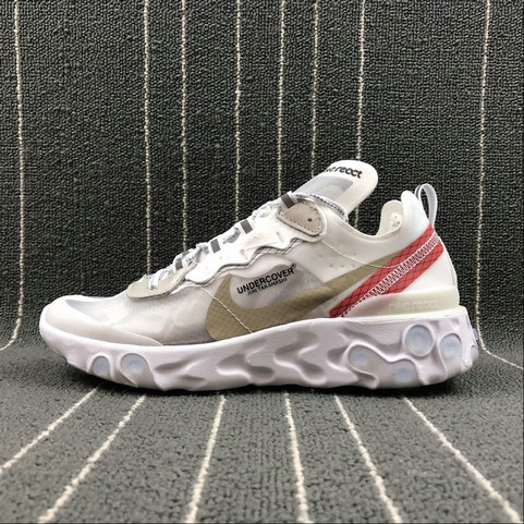 Cheap Wholesale Nike React Element 87 Undercover White Black Red Noir Rouge