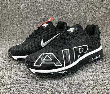 Cheap Wholesale Nike SportWear Mens Air Max Flair Black White