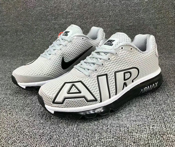 Cheap Wholesale Nike SportWear Mens Air Max Flair White Black