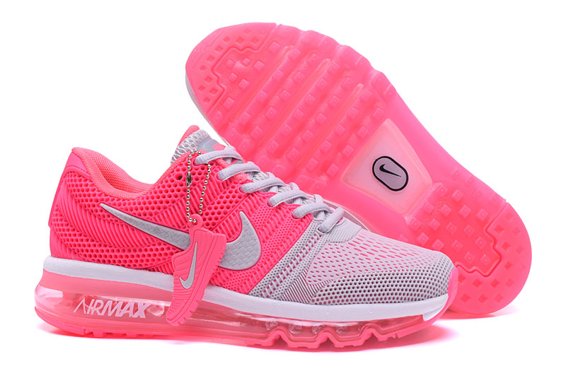 Cheap Wholesale Nike Sportwear Air Max 2017 Womens Pink Grey