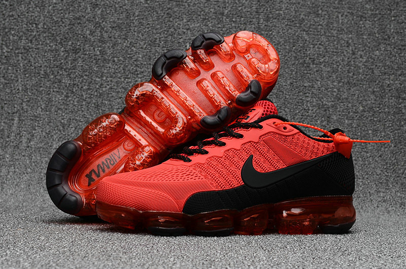 Cheap Wholesale Nike Sportwear Air VaporMax 2018 Womens Red Black