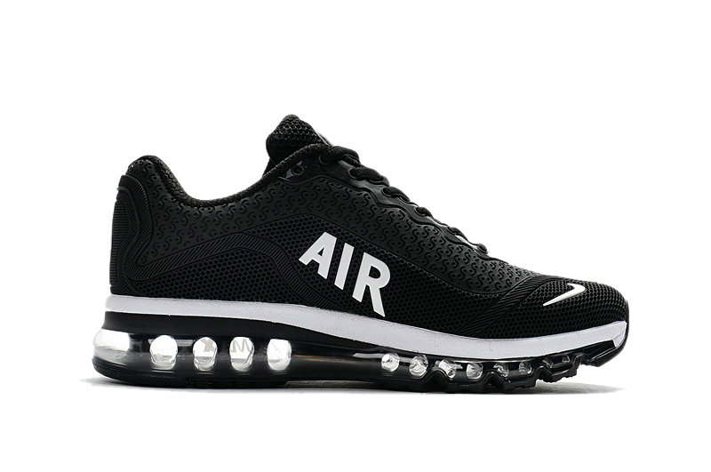 Cheap Wholesale Nike WMNS Air Max 2017 Black White