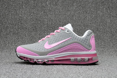 Cheap Wholesale Nike WMNS Air Max 2017 Pink Grey White