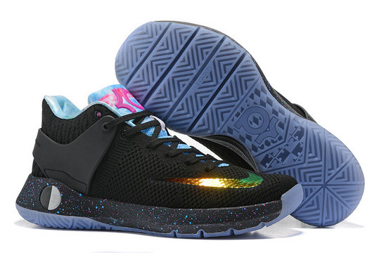 Cheap Wholesale Nike Zoom KD Trey 5 Gold Black Blue Pink