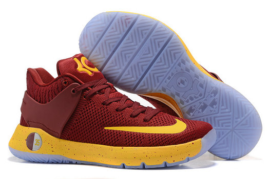 Cheap Wholesale Nike Zoom KD Trey 5 YELLOW Red Light Blue