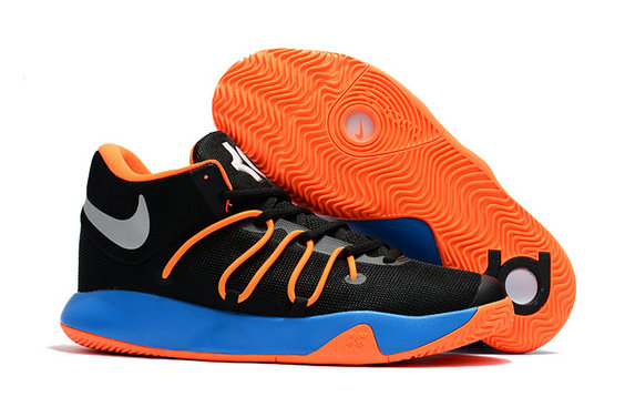 Cheap Wholesale Nike Zoom KD Trey 6 Orange Black Blue