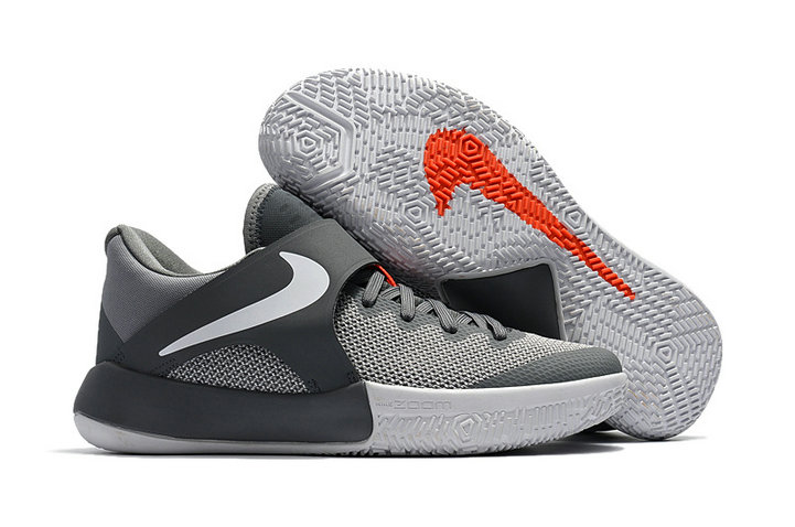 Cheap Wholesale Nike Zoom Live 2017 Kay Yow Grey White Orange