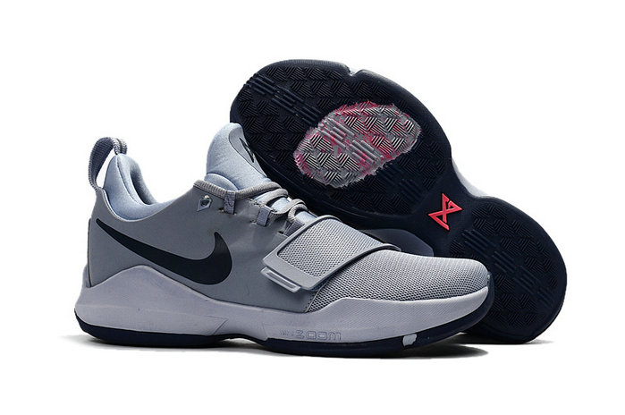 Cheap Wholesale Nike Zoom PG 1 Kids Grey Black White