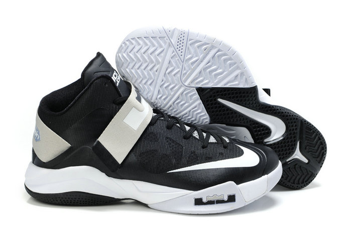 Cheap Wholesale Nike Zoom Soldier VI Black White