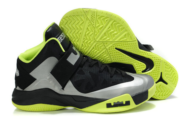 Cheap Wholesale Nike Zoom Soldier VI Green Grey Black