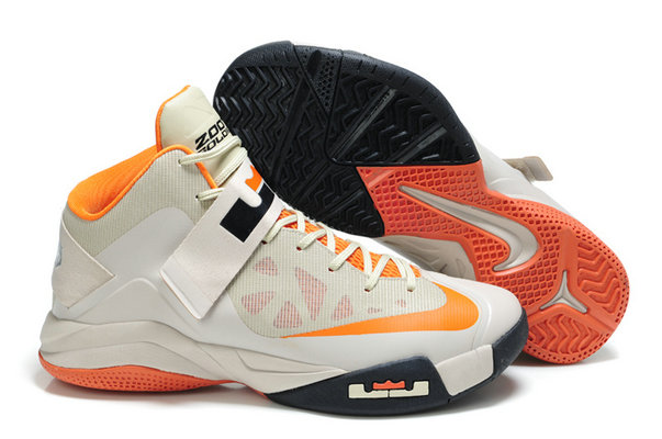 Cheap Wholesale Nike Zoom Soldier VI Grey Orange Black