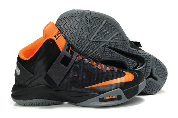 Cheap Wholesale Nike Zoom Soldier VI Orange Black