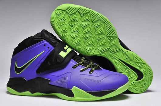 Cheap Wholesale Nike Zoom Soldier VII Blue Green Black