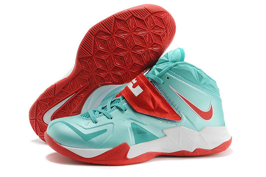 Cheap Wholesale Nike Zoom Soldier VII Red Green White