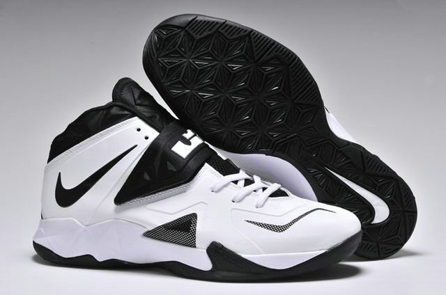 Cheap Wholesale Nike Zoom Soldier VII White Black