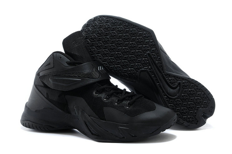 Cheap Wholesale Nike Zoom Soldier VIII 8 All Black