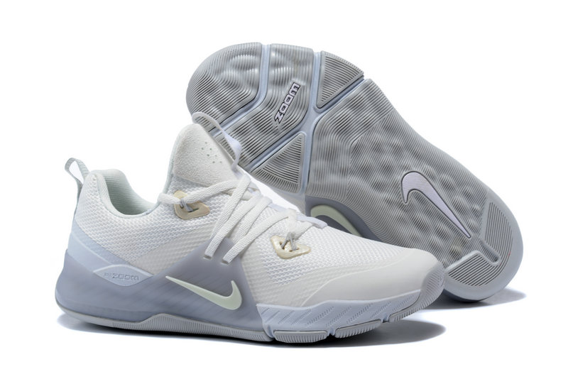 Cheap Wholesale Nike Zoom Train Command White Silver Grey