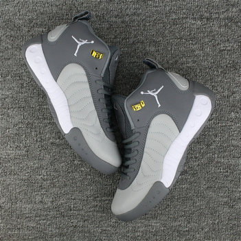 Cheap Wholesale NikeLab Air Jordan Jumpman Pro Grey Gold White
