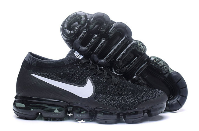 8f155dc120a Cheap Wholesale NikeLab Air VaporMax Flyknit Running Mens White Black Grey